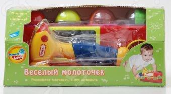 Игрушка развивающая Mommy love «Веселый молоточек» mommy love развивающая игрушка веселое путешествие кораблик цвет голубой желтый