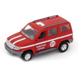 фото Машина инерционная АВТО ПО-РУССКИ «Джип. Пожарная охрана»