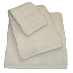 фото Полотенце TAC Basic. Размер: 50х90 см. Плотность ткани: 500 г/м2. Цвет: молочный