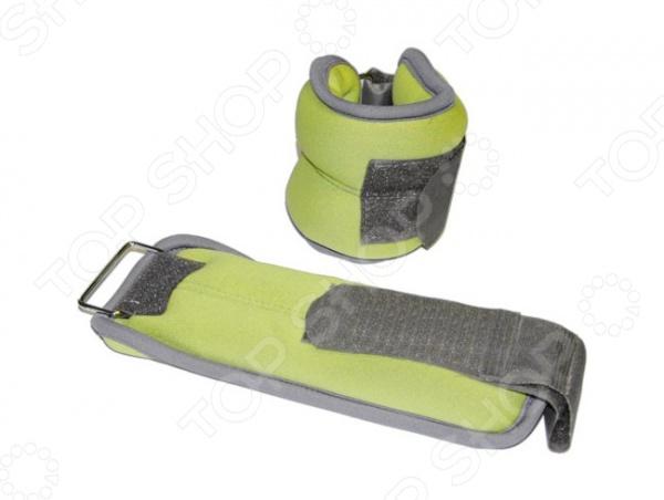 Утяжелители неопреновые Lite Weights 586WC Утяжелители неопреновые Lite Weights 5868WC /Зеленый