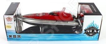 Катер на радиоуправлении Shantou Gepai 95685 реалистично смоделированная копия оригинального водного судна. Ребенок сможет управлять скоростной лодкой при помощи пульта радиоуправления с радиусом действия до 30 м. Модель может двигаться в четырех направлениях вперед-назад, влево-вправо и развивать неплохую скорость. Катер изготовлен из высококачественного прочного материала и обладает потрясающей детализацией, что сделает игровой процесс более увлекательным. Внимание! Прежде чем приступить к игре, замкните контакты, находящиеся на дне корпуса игрушки. В противном случае катер не будет реагировать на пульт управления. Характеристики:  Развивает скорость до 5 км ч.  Радиус пульта управления до 50 м. 3 частоты.  Работает от аккумуляторной батареи 4.8 V в комплекте .  Пульт работает от 4 батареек типа АА в комплект не входят .