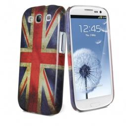 фото Чехол и пленка на экран Muvit Old Flag Cover UK для Samsung S3 i9300