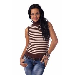 фото Свитер Mondigo 9428. Цвет: коричневый. Размер одежды: 42