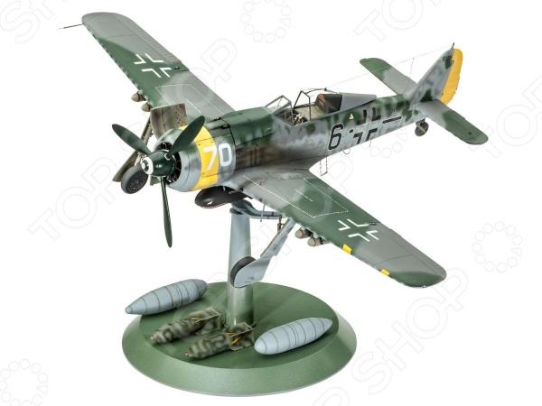 Сборная модель военного самолета Revell 04869R «Фокке-Вульф FW-190 F-8» revell самолет истребитель фокке вульф fw 190 a 8 r11 2 ая мв немецкий