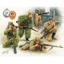 фото Сборная модель Звезда Советские снайперы