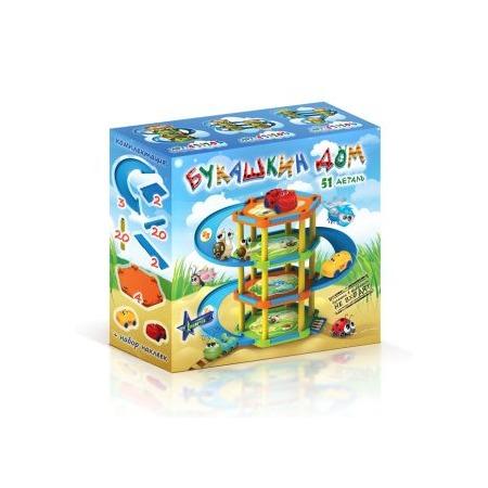 Купить Набор игровой для мальчика Нордпласт «Гараж. Букашкин Дом»
