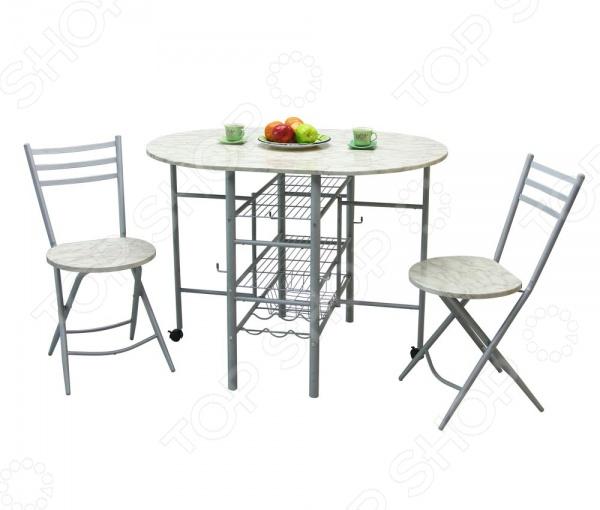 Набор мебели: складной стол-стеллаж и стулья Sheffilton SHT-DS6 Sheffilton - артикул: 536444