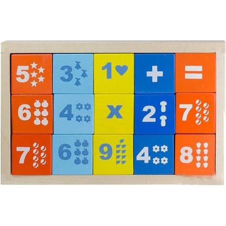 Купить Кубики обучающие Alatoys «Математика» КБМ1501