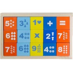 фото Кубики обучающие Alatoys «Математика» КБМ1501