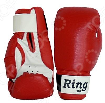 Перчатки боксерские Евроспорт Ring. В ассортименте Перчатки боксерские Евроспорт Ring /12