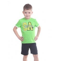 фото Комплект детский: футболка и шорты Свитанак 606495. Размер: 26. Возрастная группа: до 2 лет. Рост: 98 см