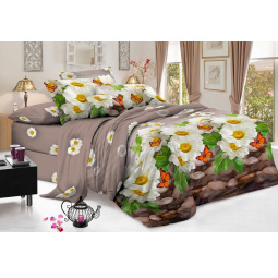 Комплект постельного белья Flora «Полет бабочки». 1,5-спальный