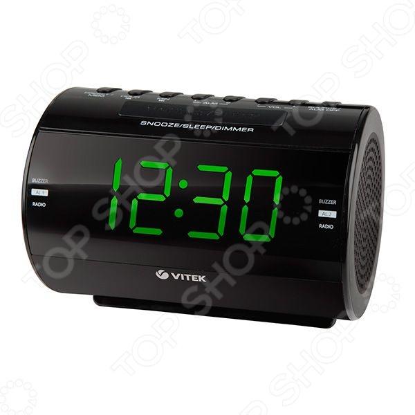 Радиочасы Vitek VT-6604