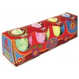 фото Набор пластилина шариковый незастывающий из 4 цветов Оранжевый Слон «Паровозик»
