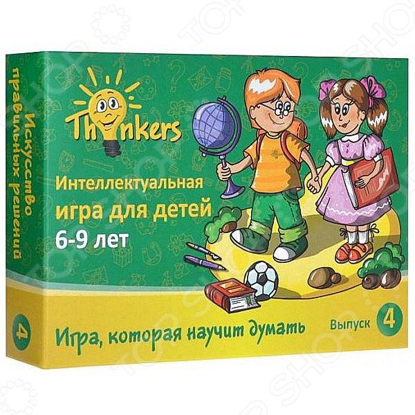 Игра логическая Thinkers «Выпуск 4» головоломка thinkers крест папараци 0712 от 7 лет