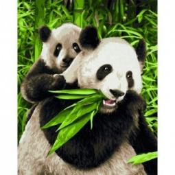 фото Набор для рисования по номерам Schipper «Панды»