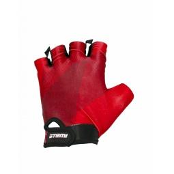 фото Перчатки велосипедные облегченные Atemi AGC-01. Цвет: красный