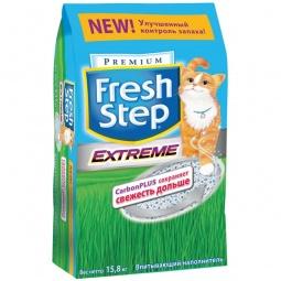 фото Наполнитель для кошачьего туалета Fresh Step «Тройной контроль запахов». Вес упаковки: 15,8 кг
