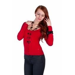 фото Жакет Mondigo 9721. Цвет: красный. Размер одежды: 44