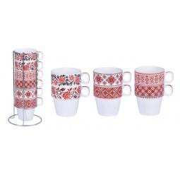 Купить Набор чайных кружек Bohmann ВНР-361. В ассортименте