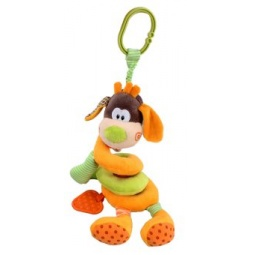 фото Игрушка подвесная Жирафики «Собачка» 93575