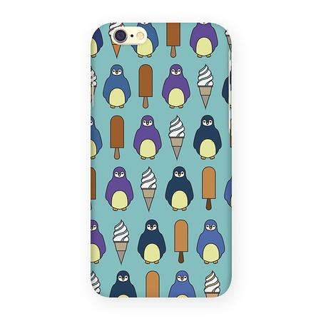 Чехол для iPhone 6 Mitya Veselkov «Пингвины и эскимо»