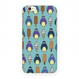 фото Чехол для iPhone 6 Mitya Veselkov «Пингвины и эскимо»