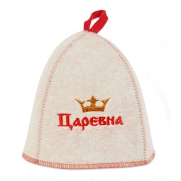 Купить Шапка для бани и сауны EVA «Царевна»