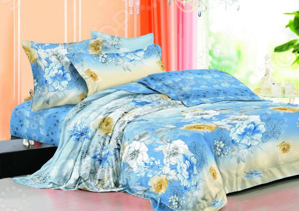 Комплект постельного белья La Noche Del Amor А-670. 1,5-спальный1,5-спальные<br>Спокойный и здоровый сон для человека также жизненно необходим, как и свежий воздух, ведь именно выспавшись, вы полны новых идей и сил для их реализации. Но возможен ли приятный сон на твердой кровати или некачественном постельном белье Конечно же, нет. Именно поэтому мы с гордостью представляем загадочный, фантастически красивый и роскошный комплект постельного белья от производителя La Noche Del Amor. Роскошное белье для сладкого сна La Noche Del Amor А-670 это постельное белье нового поколения , предназначенное для молодых и современных людей, желающих создать модный интерьер спальни и сделать быт более комфортным. Комплект изготовлен из сатина. Эту благородную ткань делают только из отборной натуральной пряжи, которую получают из самого лучшего тонковолокнистого хлопка. Благодаря использованию самых тонких волокон, получается необычайно мягкое и нежное полотно, изготовленное по технологии особого скручивания нитей и переплетения, за счет чего ткань блестит, подобно шелковой. Помимо своих внешних качеств, сатин отличается хорошей способностью пропускать воздух и прекрасно впитывать влагу. Белье не теряет цвет и не садится во время стирки, а на ткани не образуются катышки . Насыщенный цвет и высокое качество продукции гарантируют, что атмосфера вашей спальни наполнится теплотой и уютом, а вы испытаете множество сладких мгновений спокойного сна.  Почему стоит выбрать постельное белье от бренда La Noche Del Amor  Изготовлено из экологически чистого, гипоаллергенного материала.  Отличается высокой гигроскопичностью и хорошо пропускает воздух.  Не мнется и не деформируется при использовании.  Не электризуется.  Легко в уходе, не выцветает даже после множества стирок.  Внутри комплекта вас ждет небольшой сюрприз магнит, который принесет любовь в ваш дом и будет беречь ее долгие годы! В качестве сырья для изготовления данного комплекта постельного белья использованы нити хлопка. Натуральное 