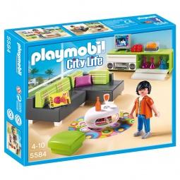 фото Конструктор игровой Playmobil «Особняки: Современная гостиная»