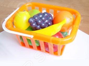 Игровой набор для девочки Совтехстром «Фрукты и овощи в корзине» посуда и наборы продуктов спектр игровой набор спектр фрукты и овощи