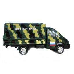 фото Машина инерционная АВТО ПО-РУССКИ «Газель-борт. Вооруженные силы»