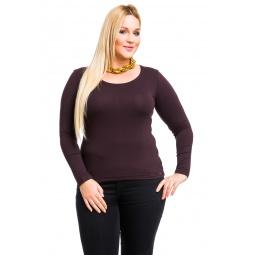 фото Кофта Mondigo XL 436. Цвет: коричневый. Размер одежды: 48