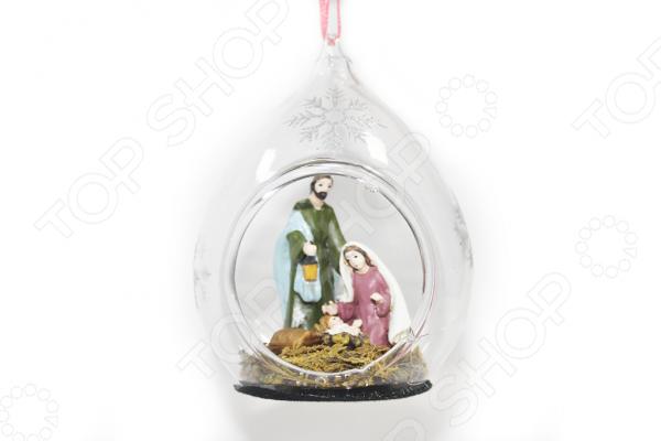 Елочное украшение Crystal Deco «Рождество» 1707784