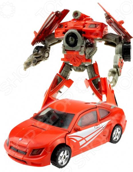 Робот-трансформер Machine boy «Спорткар»Роботы и трансформеры<br>Робот-трансформер Machine boy Спорткар персонаж из отряда роботов с удивительными способностями трансформации, призванный для жестокой битвы между кланами. Робота можно самостоятельно собрать в машинку для погонь. Прекрасная модель, которая станет приятным дополнением в коллекции. Игра с этим роботом способствует развитию инженерских навыков, воображения, умения использовать форму предмета, а также мелкой моторики рук. Кроме того, тренируется наблюдательность и логическое мышление. Преимущества:  Безопасный и качественный материал.  Легко трансформируется.  Оригинальный дизайн собранной фигурки. Рекомендуется детям от 3х лет.<br>