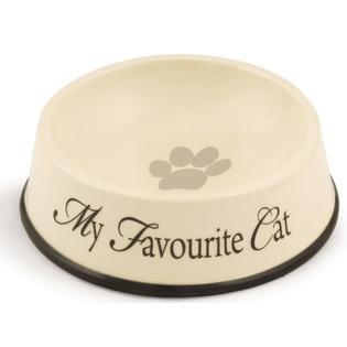 Купить Миска для кошек с окантовкой Beeztees Outer. My Favourite Cat