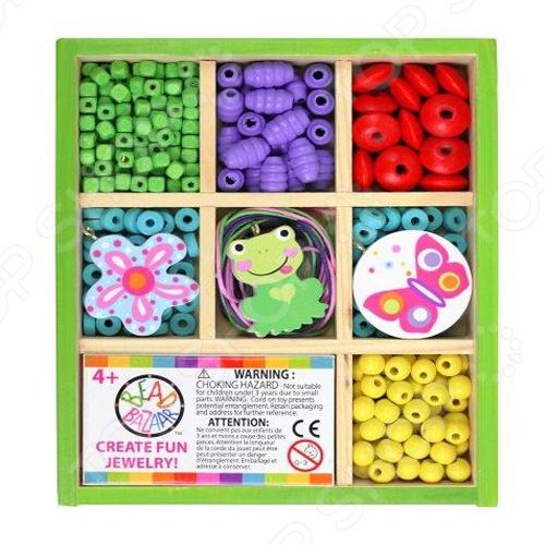 Набор для создания украшений Bead Bazaar «Друзья природы» 1698365