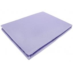 фото Простыня на резинке трикотажная ЭГО. Цвет: фиолетовый. Размер простыни: 90х200 см