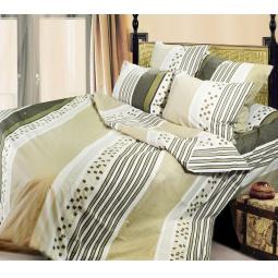 фото Комплект постельного белья Сова и Жаворонок «Сингапур». Евро. Размер наволочки: 50х70 см