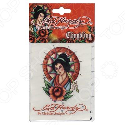 Наклейка со стразами ED Hardy EH-01234 Geisha