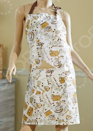 Фартук Primavelle 71965850 это красивый атрибут, который поможет выглядеть модно и женственно, а также даст испачкать одежду во время готовки. Изготовлен из хлопка, легко отстирывается и имеет хорошие свойства, которые не дадут фартуку выцвести. Оснащена:  Завязками на бедрах,  Регулируемой верхней петлей,  Удобным карманом.