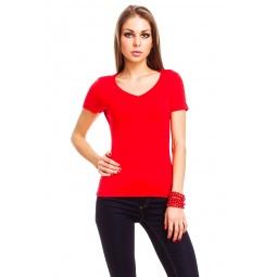 фото Футболка Mondigo 056. Цвет: красный. Размер одежды: 44