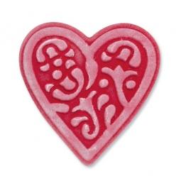 фото Форма для вырубки и эмбоссирования Sizzix Embosslits Die Сердце