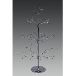 фото Подставка под новогодние украшения Holiday Classics «Дерево». Цвет: серебристый