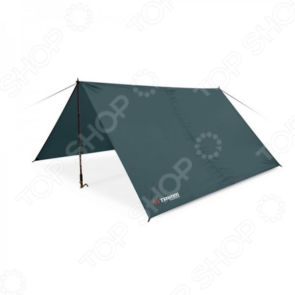 Палатка шатровая Trimm 49258 Trace создана для любителей комфортного отдыха на природе. Если вы собираетесь провести пикник на свежем воздухе, то данная палатка станет превосходным домом на время загородной поездки. В разложенном состоянии тент представляет собой навес в виде шатра, шириной 2,9 метра и длиной 3,5 метра. Изделие сделано из полиэстера, устойчивого к воздействию ультрафиолетовых лучей и влаги. Стойки не входят в комплект поставки.