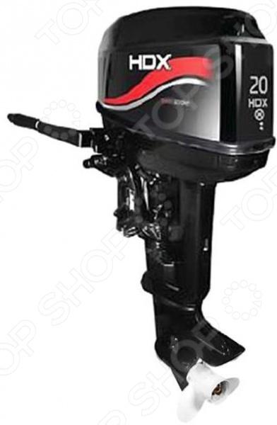 Лодочный мотор 2-х тактный HDX T 20 BMSРыбалка. Охота<br>Лодочный мотор 2-х тактный HDX T 20 BMS высококачественный мощный мотор для истинных любителей охоты и рыбалки. Конструкция подвесного типа отличается простотой использования, компактными габаритами и практичным дизайном. Небольшой вес мотора позволяет без труда транспортировать его в дорожной сумке или багажнике. Лодочный мотор данной модели сконструирован по двухтактной схеме, отличается надежностью и стабильной работой при любой частоте оборотов из допустимого диапазона. Запуск мотора осуществляется вручную, управление при помощи стандартного румпеля. Система передач представлена тремя положениями: переднее, нейтральное и заднее. Лодочный мотор изготовлен из высококачественных металлов, отличающихся прочностью и долговечностью. Используемый при производстве алюминиевый сплав устойчив к появлению коррозии и механическим воздействиям. А водяная система охлаждения проточного типа предотвращает перегрев мотора и его поломку. Топливная система карбюраторного типа. В комплекте:  мотор;  отвертка;  свечной ключ;  трос запасной;  ключ-предохранитель;  винт гребной;  крепеж винта;  документация.<br>