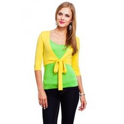 фото Болеро Mondigo 071. Цвет: желтый. Размер одежды: 44