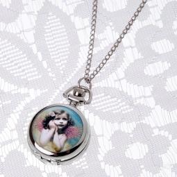 Купить Кулон-часы Mitya Veselkov «Портрет девочки с крыльями»