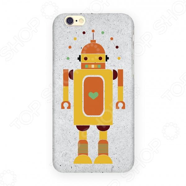 Чехол для iPhone 6 Mitya Veselkov «Влюбленный робот» mitya veselkov чехол для iphone 6 скандинавская лошадка