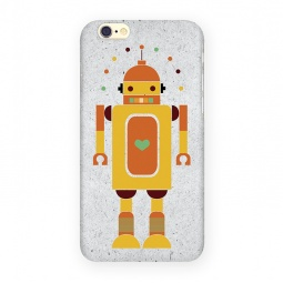 фото Чехол для iPhone 6 Mitya Veselkov «Влюбленный робот»